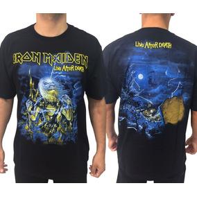 Camiseta Iron Maiden Consulado Do Rock Camisa Moto E1268