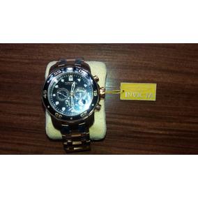 Relógio Invicta Pro Diver 0072 100% Original Banhadoouro18k
