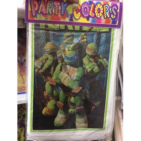 25 Bolsas Dulceras Tortugas Ninja