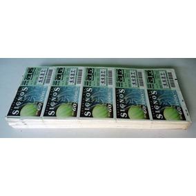 Loteria Signos - 120 Tiras Difer. 5 Bilhetes Cada - 1993/95
