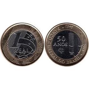 Moeda Comemorando 50 Anos Banco Central