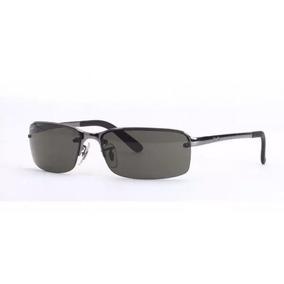 606609d52ec86 Óculos De Sol Ray Ban 3217 Obama Prata Lentes Fume - Óculos no ...