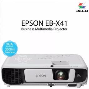 Projetor Epson Eb-x41 + 3600l Xga/wifi/hdmi Branco Top !!