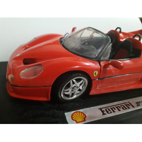 Ferrari F50 1/18 Coleçao Shell Completa C/ Malinha E Base
