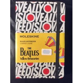 Moleskine Beatles All You Need Lacrado Pequeno
