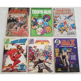 Lote Grandes Heróis Marvel Editora Abril
