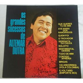 Lp Os Grandes Sucessos De Altemar Dutra (1973)