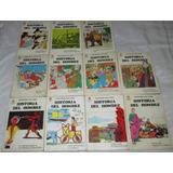 Historia Del Hombre, Lote De 12 Libros-cómics De Los 70