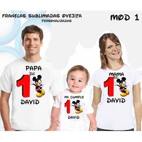 Franela De Mickey Mouse Para Cumpleaños - Bebés en Mercado Libre ... 9255618611538