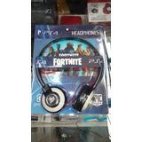 Auricular Fortnite C Microfono Playstation 4 Ps4 Ed Especial