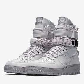 Nike Sf Air Force 1 Vast Grey Af1 Botas Mayma Sneakers 88663afb52557