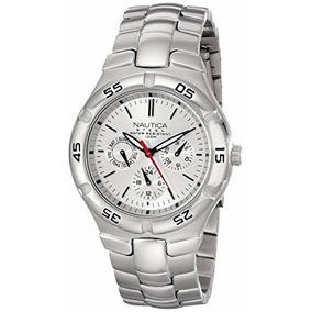 c456d3a83e8 Relógio Nautica Steel N10074