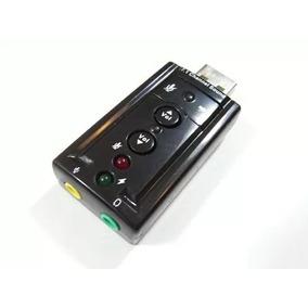 Placa De Sonido Usb 7.1 Con Control Volumen