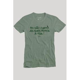 Camiseta Não É À Toa Reserva