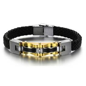 Pulseira Swarovski Masculino Sympathy Ceramic Black Bracelet - Joias ... 164befca04