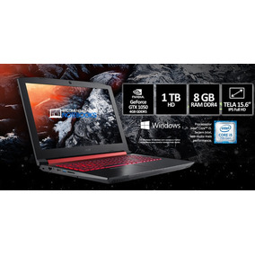 Notebook Acer Gamer Nitro 15,6 Led An515-51-50u2