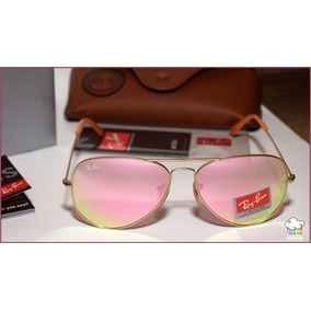 c35f053350b37 Rayban 3026 Prata Lente Espelhado - Óculos no Mercado Livre Brasil