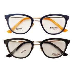 Óculos De Grau Miu Miu - Óculos Armações no Mercado Livre Brasil c9ab403f82