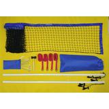 Kit Beach Tennis - Quadra Portátil