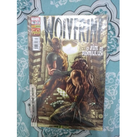 Revista Hq Wolverine Nova