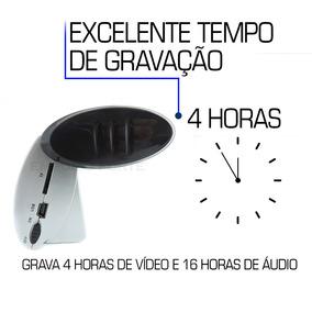 c4e631b2e87 Relogio 007 Micro Filmadora Camera De Espiao Espionagem 8gb