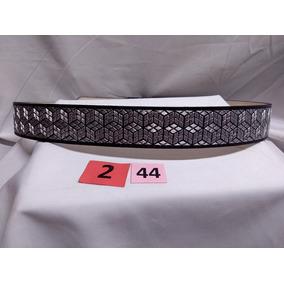 Cinturón Plata 2 Pulg. Talla 44 M2 - El Güero -