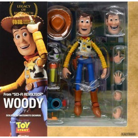 Action Figure Woody Toy Story Revoltech - Versão Chinesa