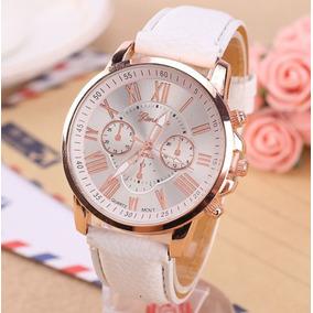 ab354c68fd5 Relogio Geneva Rose Gold Plated Feminino - Relógios De Pulso no ...