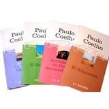 Libros Paulo Coelho La Nación 4 Titulos Impecables Liquido!