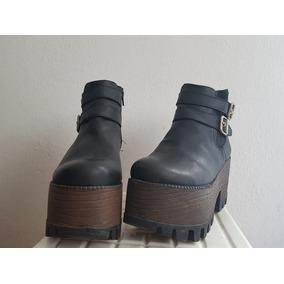 Botinetas Mujer Plataforma Madera - Zapatos en Capital Federal en ... dc7b27ea1b4