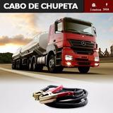 Cabo De Chupeta Grosso 3 Mt Caminhão Trator Carro Cabo 25mm²