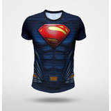 Remera Superman Liga De La Justicia, Full Print