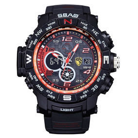 b09980aaa44 Relógio Esportivo Masculino Sbao No Brasil Compra Expressa ...
