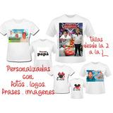 2671608ef8 Camiseta Personalizada Estampada Sublimacion Garantizada en Mercado ...