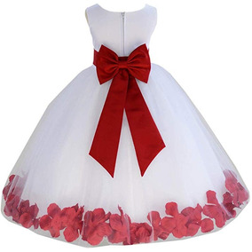 Vestido Blanco De Niña Para Evento - Importado
