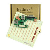 Eathtek Replacement Dc Power Jack Vga Usb Board For Dell Ins