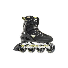 Rollerblade Macroblade 80 Alu 16 All Around Skate, Negro / A