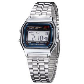 d1097db9e09 Relogio Digital Feminino Prata Barato - Joias e Relógios no Mercado ...