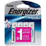 Baterías Del Aa Del Litio Del Energizer Ultimate, Cuenta 8