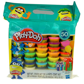 Play-doh Set De 50 Latas Originales 1,4 Kilogramos