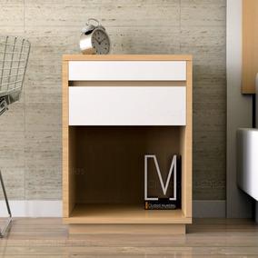 Mesa De Luz Con Desayunador De Diseño Moderno