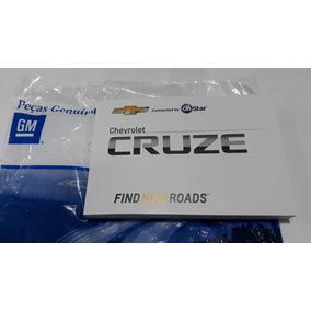 Manual Proprietário Cruze 2017/18 Original Gm Em Branco