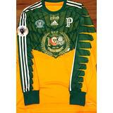Camisa Palmeiras Euroamericana 2014 Fábio #47 De Jogo