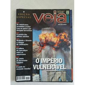 Revista Veja 1718 - Setembro De 2001 - Atentados World Trade