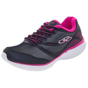 Tênis Feminino Mist 2 Marinho/pink Olympikus - 344