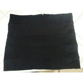 Minifalda Negra Ambiance Apparel Talla Grande Ropa Americana