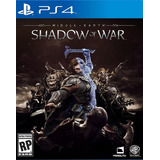 Middle-earth Shadow Of War Ps4 Digital Gcp