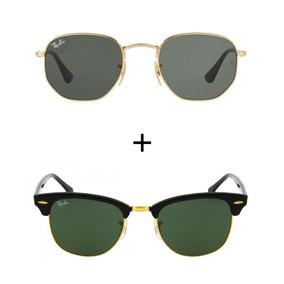 Ray Ban Hexagonal Feminino - Óculos De Sol no Mercado Livre Brasil 5545795a09