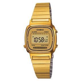 cfd5a967730 Casio Vintage Dourado La670w - Relógios De Pulso no Mercado Livre Brasil