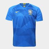 Camisa Da Seleção Brasileira Torcedor Azul - Futebol no Mercado ... 9e69e80422457